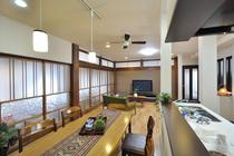 日本家屋の意匠際立つ二世帯住宅 耐震補強で将来も安心
