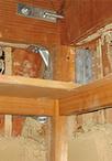 1階・2階ともにバランスよく金物補強、耐力壁補強をし、耐震性能を大幅にアップ。...