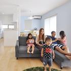 子供がのびのび育つ LDKから和室までがひとつづきの家