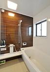 在来工法のお風呂からお手入れが簡単なユニットバス(TOTO)へ。洗面室を一部取り...