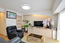 シニア世代のマンション住み替えリフォーム、和の意匠を加えて