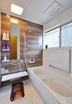 タイル貼りの在来浴室からユニットバス(TOTO/サザナ 1616サイズ)に交換。内装は...